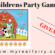 Childrens Perfect Party Game Giveaway